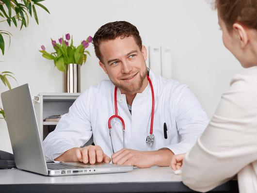 Geschäftskunden: Ärzte und Praxen